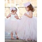 A-line Floor-length Flower Girl Dress Sleeveless Flower Girl Dresses