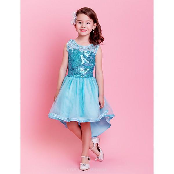 Ballet Kids' Dancewear Tutu Ballet Lively Flower Pattern Yarn Dance&Party Dress Kids Dance Costumes Flower Girl Dresses