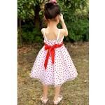 A-line/Ball Gown/Princess Knee-length Flower Girl Dress - Satin/Tulle Sleeveless Flower Girl Dresses