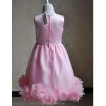 A-line Knee-length Flower Girl Dress Sleeveless Flower Girl Dresses