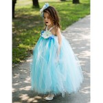 A-line Ankle-length Flower Girl Dress - Rayon Flower Girl Dresses