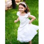 A-line Ankle-length Flower Girl Dress - Polyester Flower Girl Dresses