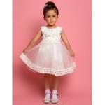 A-line/Ball Gown/Sheath/Column Tea-length Flower Girl Dress - Chiffon/Satin Sleeveless Flower Girl Dresses
