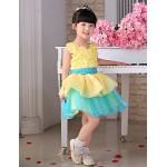 Princess Knee-length Flower Girl Dress - Tulle Sleeveless Flower Girl Dresses