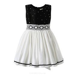 Girl Black Classical Flower Girl Dresses