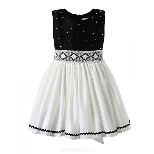 Girl Black Classical Flower Girl Dresses Flower Girl Dresses