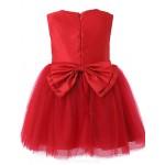 Girl Pink Grenadine Pleated Holiday Dresses Flower Girl Dresses