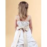 A-line/Princess Floor-length Flower Girl Dress - Satin Sleeveless Flower Girl Dresses