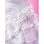A-line/Princess Floor-length Flower Girl Dress - Taffeta Sleeveless Flower Girl Dresses
