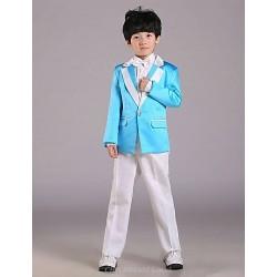 Ring Bearer Suit Uniform Cloth 4 Pieces Suit