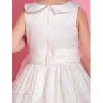A-line/Ball Gown Floor-length Flower Girl Dress - Satin/Organza Sleeveless Flower Girl Dresses