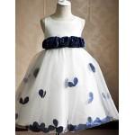 Flower Girl Dress Hemline/Train Fabric Silhouette Sleeve Length Dress Flower Girl Dresses