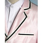 Pink Polyester Ring Bearer Suit - 5 Pieces Flower Girl Dresses