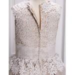 A-line Ankle-length Flower Girl Dress - Lace / Organza Sleeveless Flower Girl Dresses