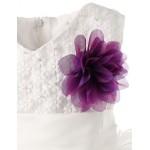Girl White Sleeveless Flower Girl Dresses Flower Girl Dresses