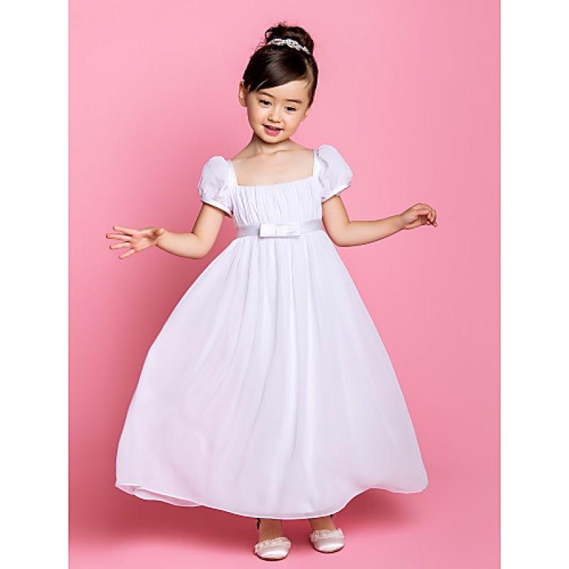 Sheath Flower Girl Dress