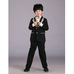 Ring Bearer Suit Uniform Cloth 6 Pieces Suit Flower Girl Dresses