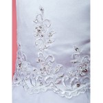 Ball Gown/A-line Ankle-length Flower Girl Dress - Organza Sleeveless Flower Girl Dresses