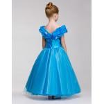Flower Girl Dress Knee-length A-line Sleeveless Dress Flower Girl Dresses