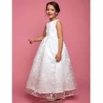 A-line/Princess Floor-length Flower Girl Dress - Lace Sleeveless Flower Girl Dresses