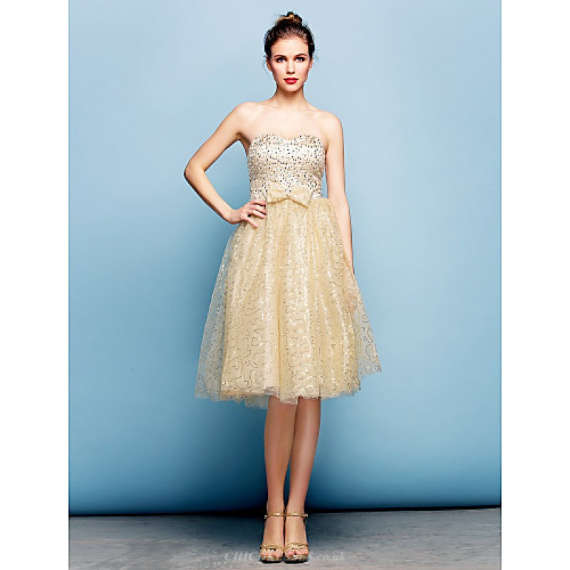 Cocktail Party Dress Champagne Plus Sizes Petite Ball