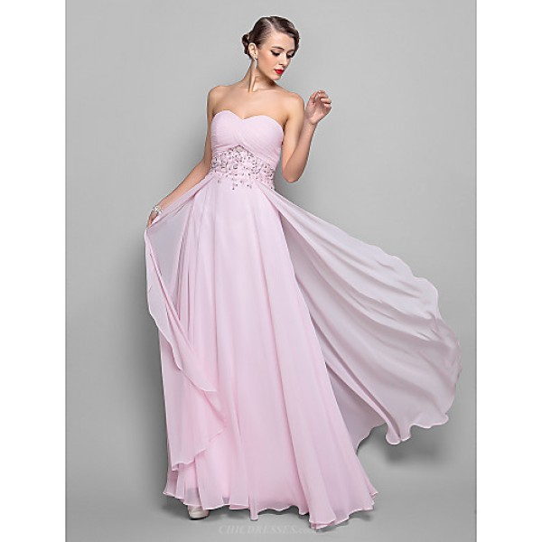 TS Couture A-line Plus Sizes / Hourglass / Pear / Misses / Petite / Apple / Inverted Triangle / Rectangle Mother of the Bride Dress - Blushing Pink Mother Of The Bride Dresses