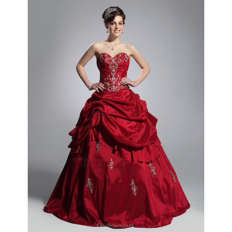 dcd6bbfd05f TS Couture Prom   Formal Evening   Quinceanera   Sweet 16 Dress - Burgundy  Plus Sizes