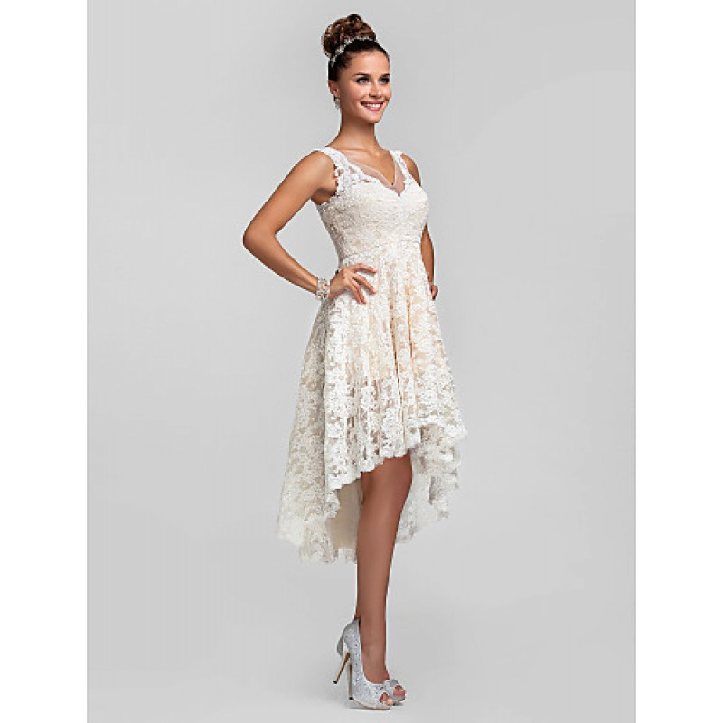 Cocktail party prom homecoming wedding party dress for Ivory plus size wedding dresses
