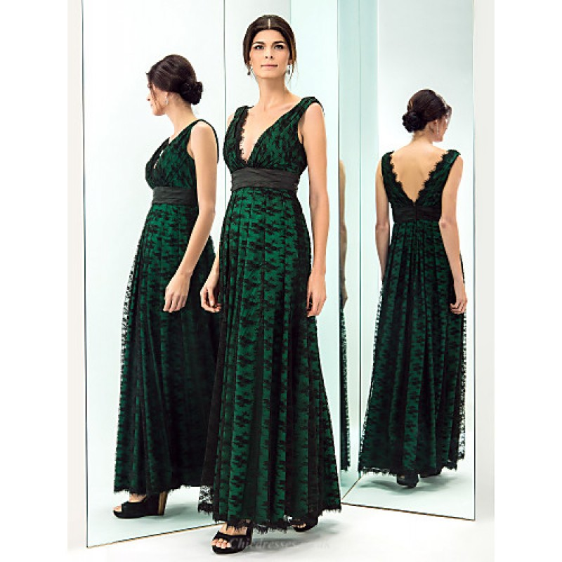 591cddd730e7 ... TS Couture Prom   Military Ball   Formal Evening Dress - Dark Green  Plus Sizes ...