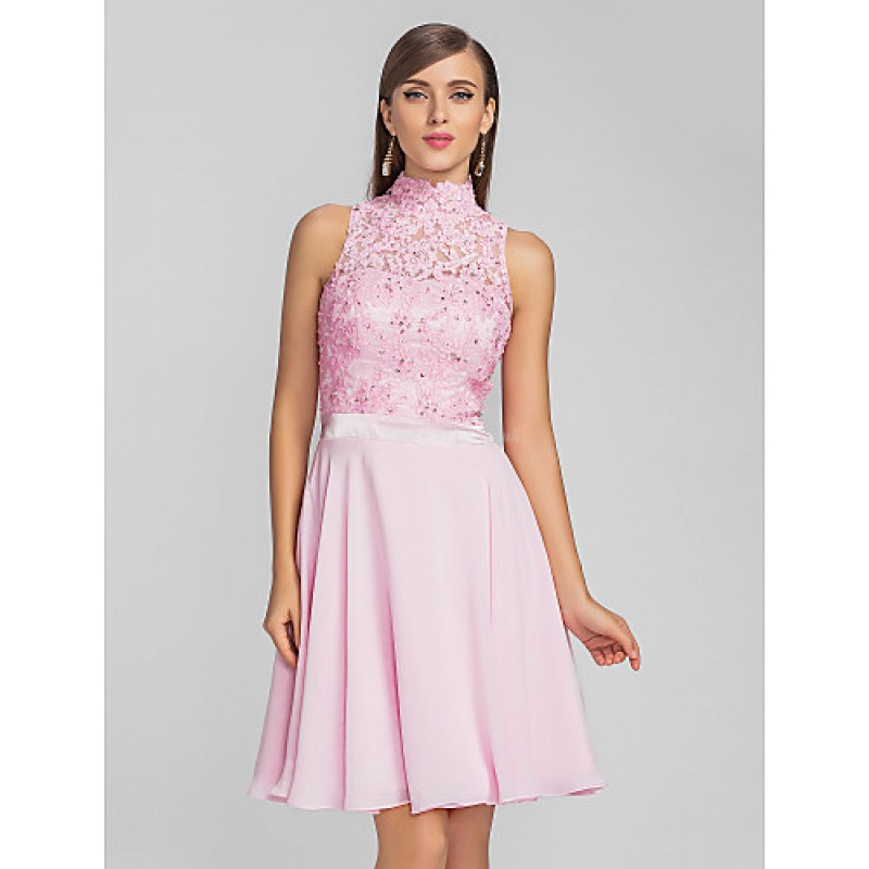 3e5a5fb726 ... TS Couture Cocktail Party   Prom   Dress - Blushing Pink Plus Sizes    Petite A ...