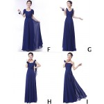 Mix & Match Dresses Floor-length Chiffon 9 Styles Bridesmaid Dresses (3228009) Special Occasion Dresses