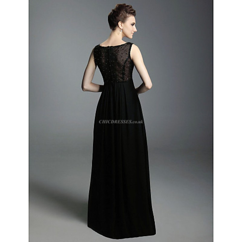 Chic Dresses Formal Evening Military Ball Dress Black
