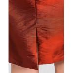 Sheath/Column Plus Sizes / Petite Mother of the Bride Dress - Burgundy Knee-length Half Sleeve Taffeta Mother Of The Bride Dresses