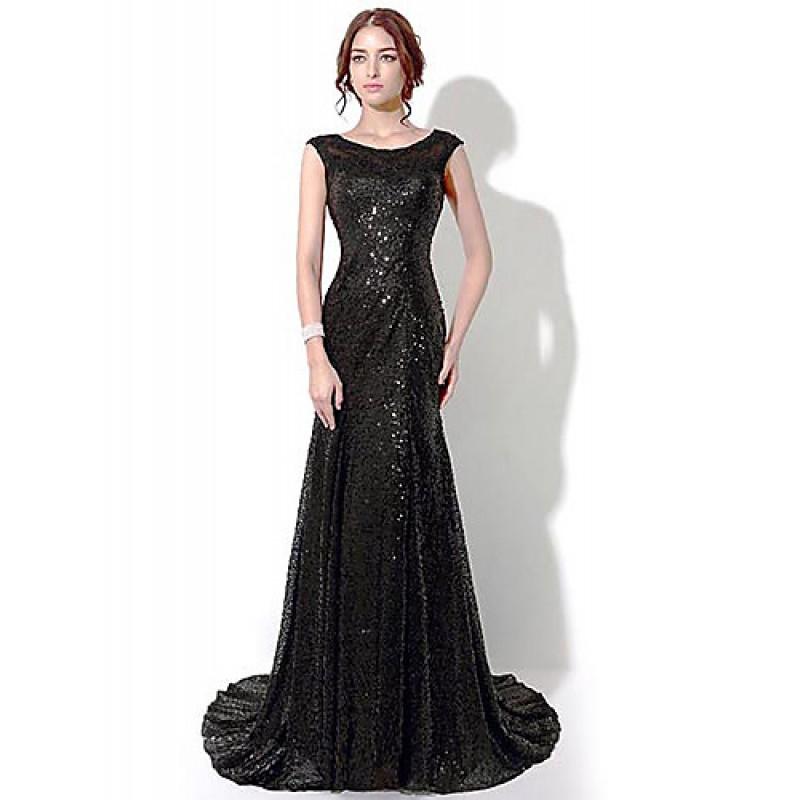 Formal Evening Dress Black Plus Sizes Petite Sheathcolumn