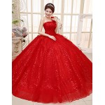 Ball Gown Wedding Dress - Ruby Floor-length One Shoulder Lace / Tulle Special Occasion Dresses
