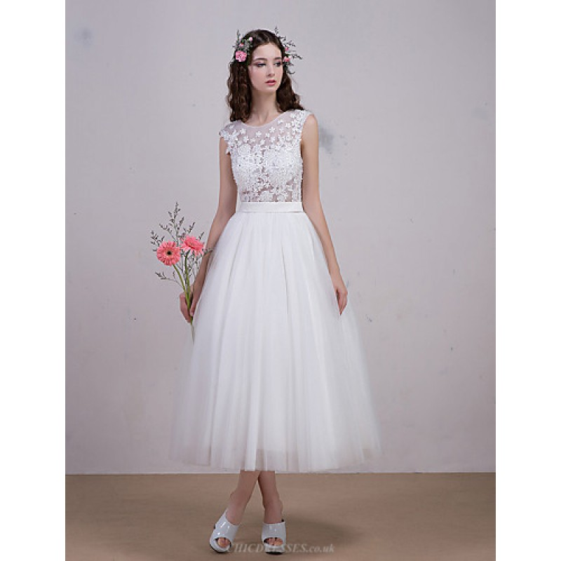 Evening Dress Ball Gown Ivory Translucent Hollow With Beading On