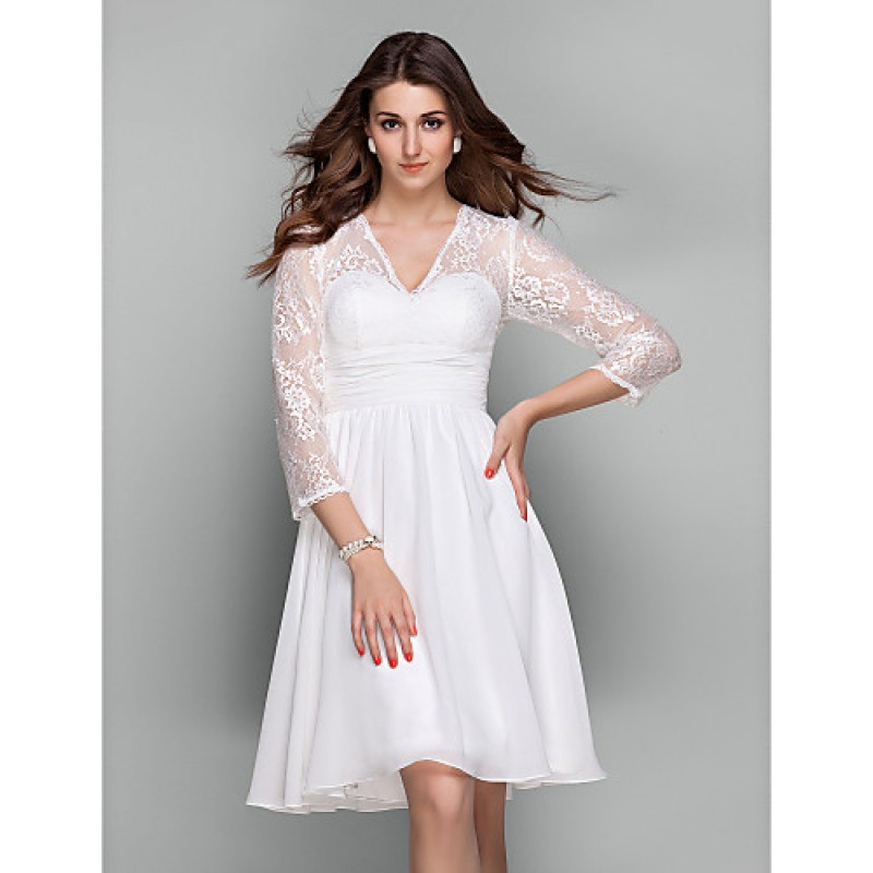 Chic Dresses Cocktail Party Holiday Prom Dress Ivory