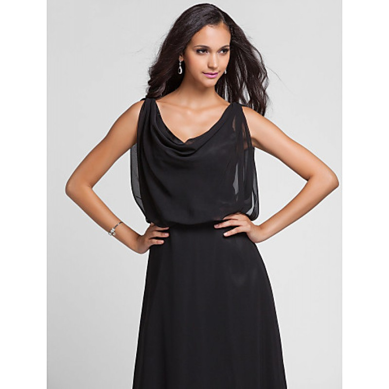 Formal Evening Military Ball Dress Black Plus Sizes
