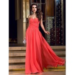 Formal Evening / Prom / Military Ball Dress - Ruby Plus Sizes / Petite Sheath/Column V-neck Floor-length Jersey Special Occasion Dresses