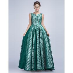 Formal Evening Dress Sage A Line V Neck Floor Length Satin