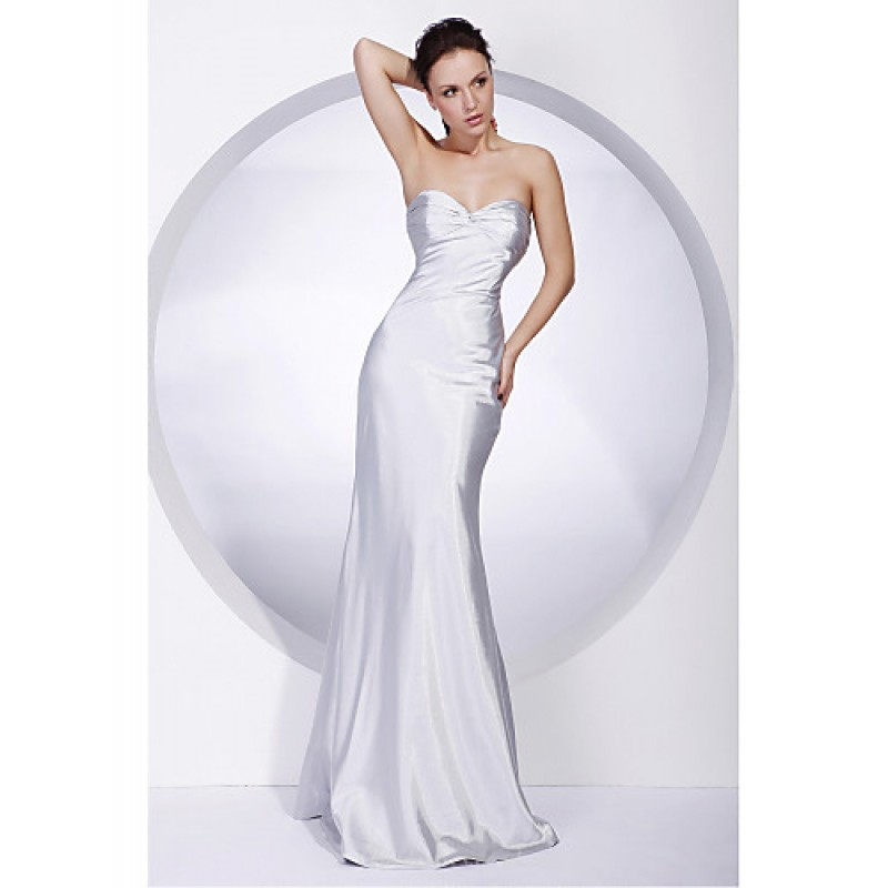 a2c90f304d2 TS Couture Military Ball   Formal Evening Dress - Silver Plus Sizes   Petite  Trumpet