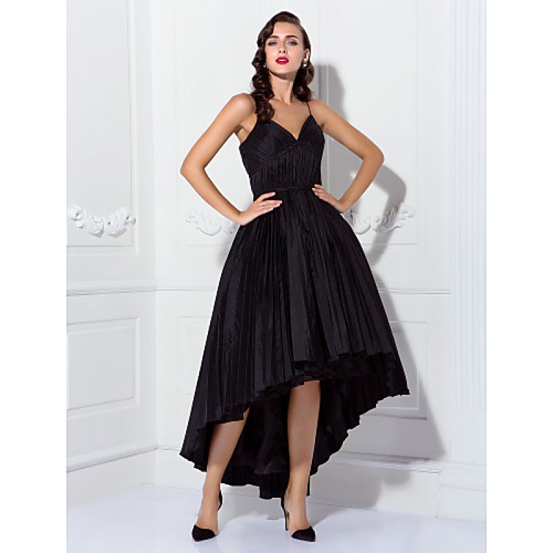 Chic Dresses Cocktail Party / Prom Dress - Black Plus Sizes ...