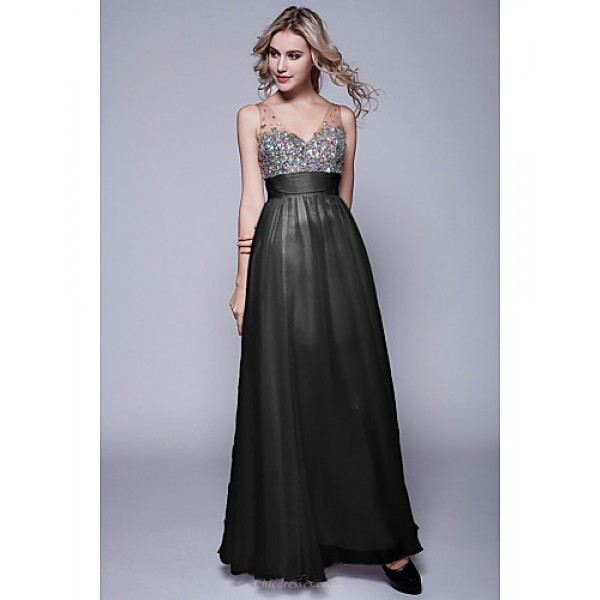 Formal Evening Dress - Black / Ruby / Fuchsia / Grape / Pool / Daffodil / Candy Pink / Lime Green / Champagne Petite Sheath/Column Special Occasion Dresses