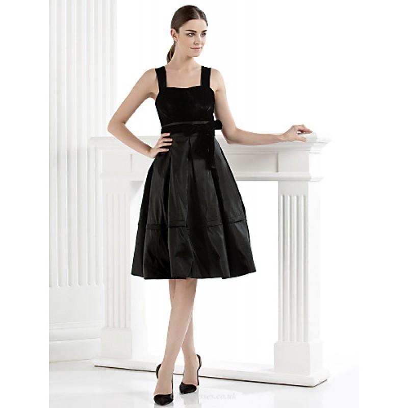 cocktail party dress  black plus sizes  petite aline