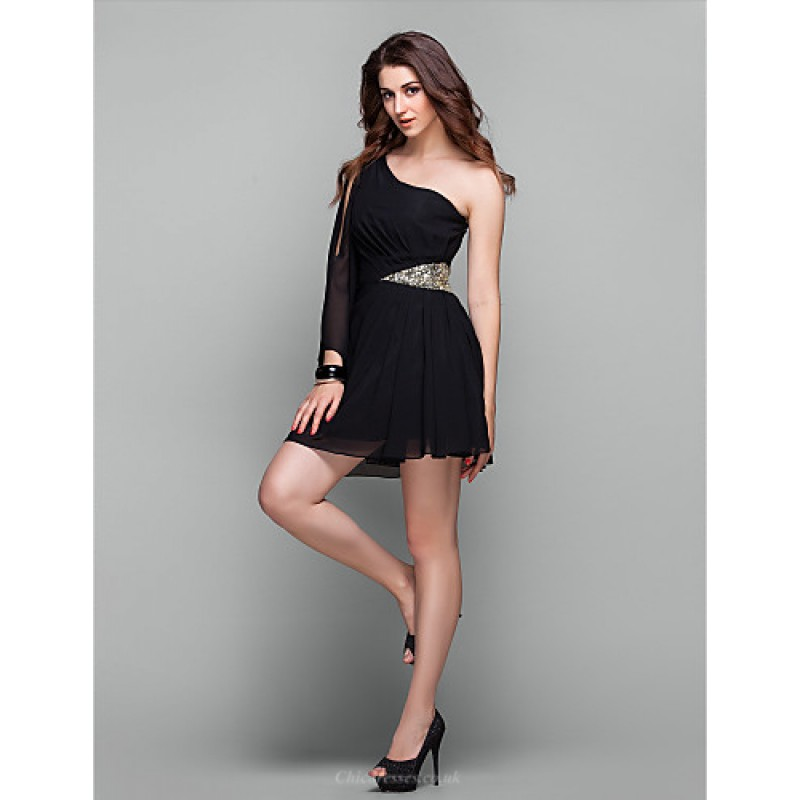 Cocktail Party Holiday Prom Dress Black Plus Sizes
