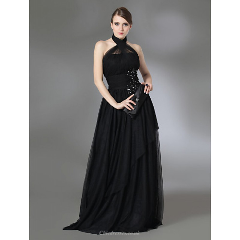 f739740edc3 TS Couture Prom   Military Ball   Formal Evening Dress - Black Plus Sizes    Petite