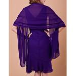 Sheath/Column Plus Sizes / Petite Mother of the Bride Dress - Regency Knee-length Sleeveless Chiffon Mother Of The Bride Dresses