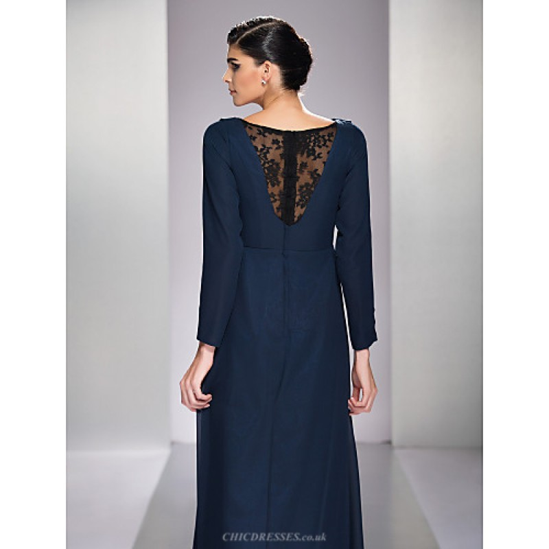 Chic Dresses Formal Evening Military Ball Dress Dark Navy Plus