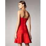 Cocktail Party Dress - Ruby Petite A-line Strapless Short/Mini Spandex / Rayon / Nylon Taffeta Special Occasion Dresses
