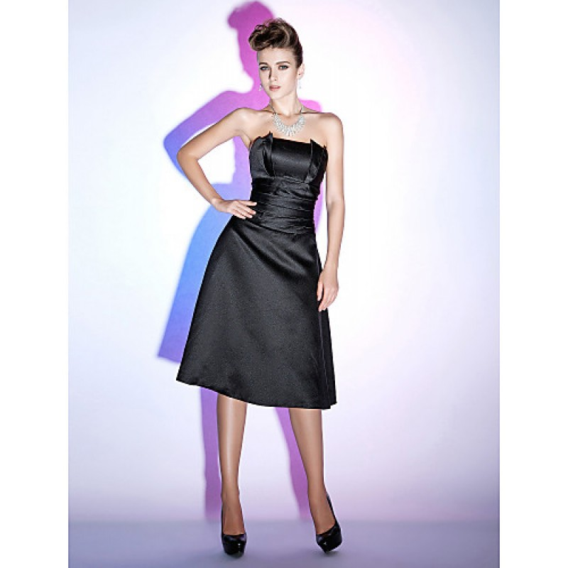 Chic Dresses Cocktail Party Holiday Dress Black Plus
